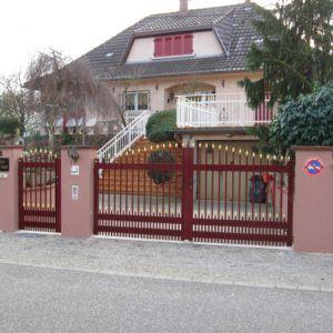 Portails battants - PARIS